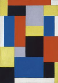 Theo van Doesburg Composition XX, 1920