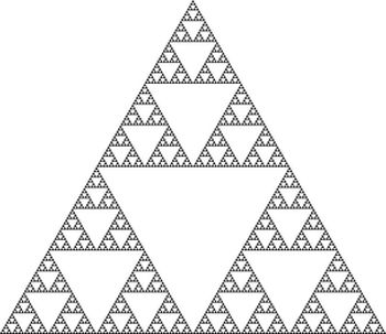 Sierpinski Triangle (Level 7)