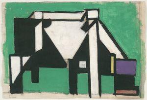 Theo van Doesburg, Komposition Kuh, 1918